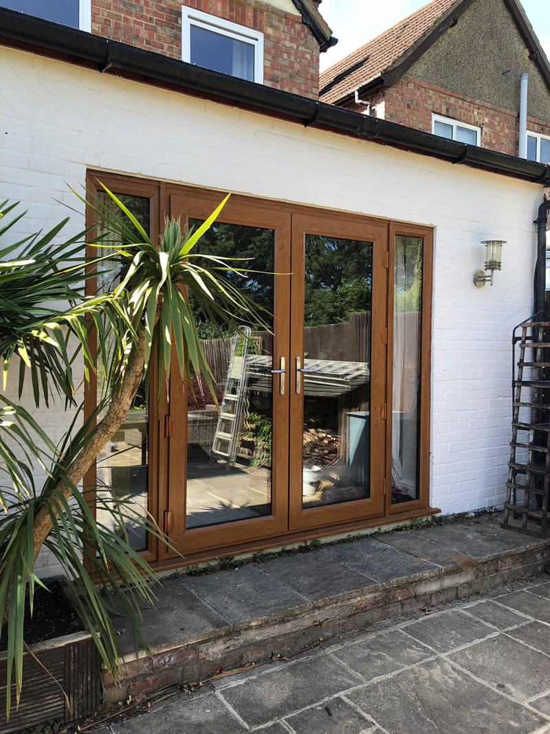 Wooden Patio Doors - Cobham Surrey