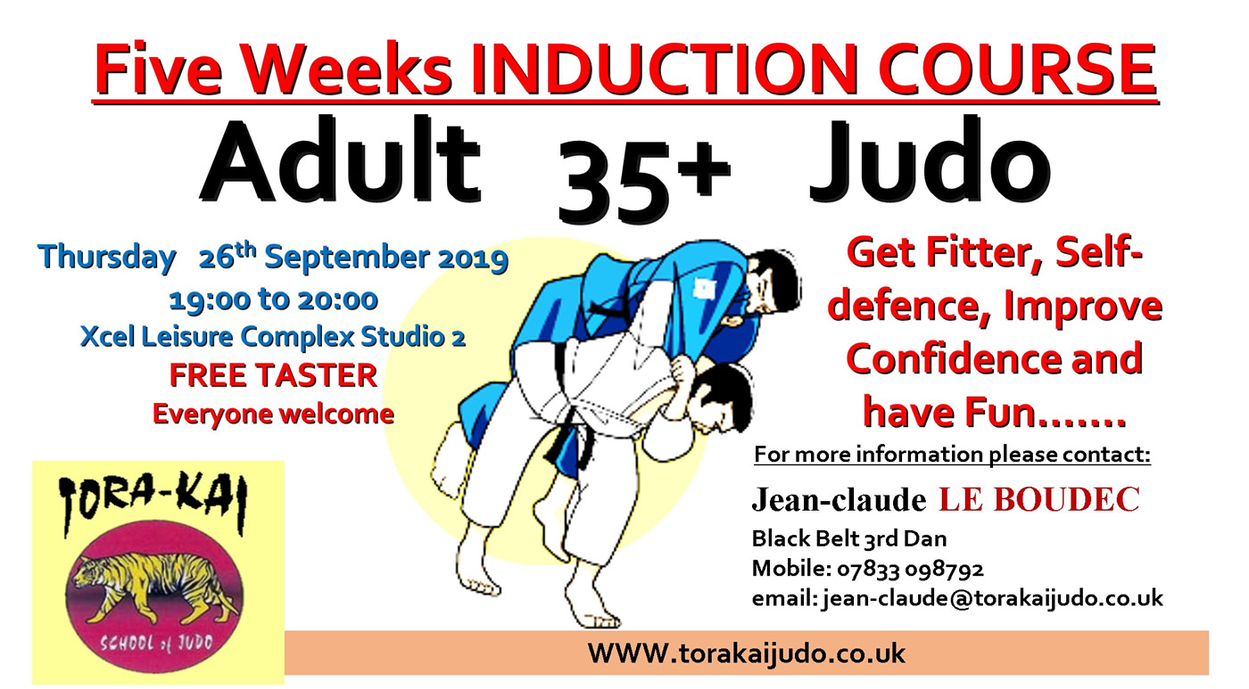 Adults Induction Course Sept 2019 at Elmbridge Xcel Sports Centre Walton on Thames on Thursdays