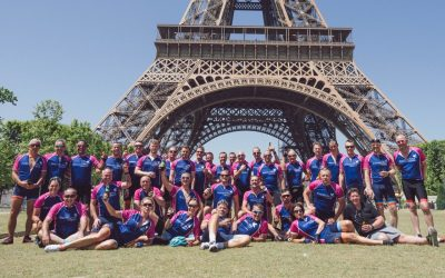 Cyclists' Sizzling Cycle Trip To Paris Raises £14,000 For Hospice Funds