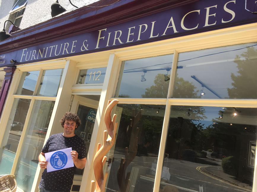 Furniture and Fireplaces - Oatlands Drive Weybridge Surrey