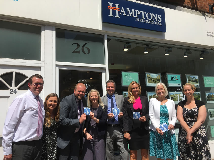 Hamptons Estate Agents High Street Weybridge Surrey