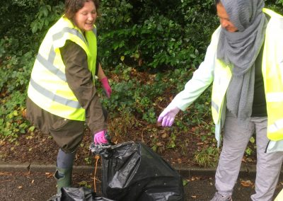 Litter picking - Weybridge in Bloom - July 2019