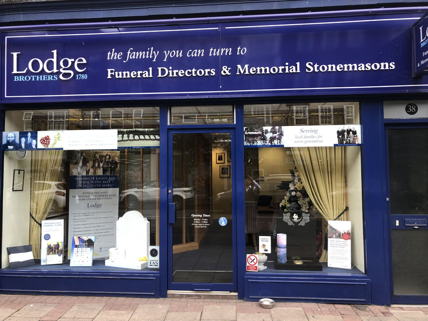 Lodge Brothers Funeral Services High Street Weybridge Surrey
