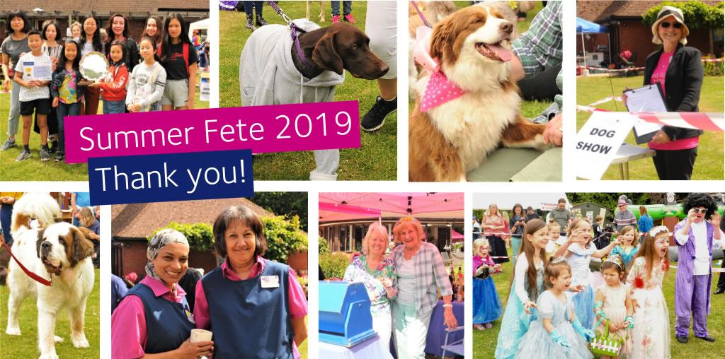 Princess Alice Hospice Summer Fete 2019 Thankyou