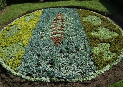 Winning Flowerbed Design in Churchfields Recreation Ground Weybridge