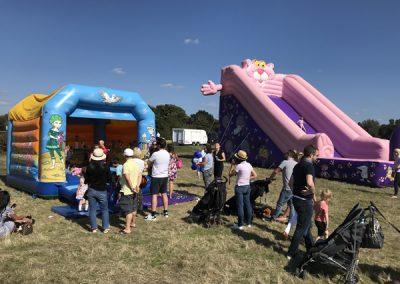 Inflatables - Fun play for kids at Brooklands Fun Day Weybridge Elmbridge