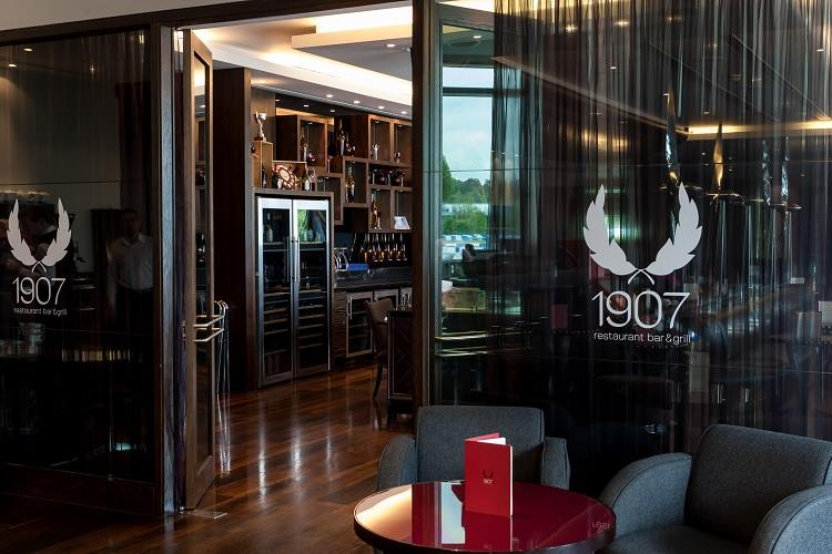 Delicious food at 1907 Restaurant, Bar & Grill at Brooklands Hotel Weybridge Surrey
