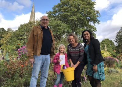 Sunflower Competition Winner - Weybridge In Bloom and Allotments Association