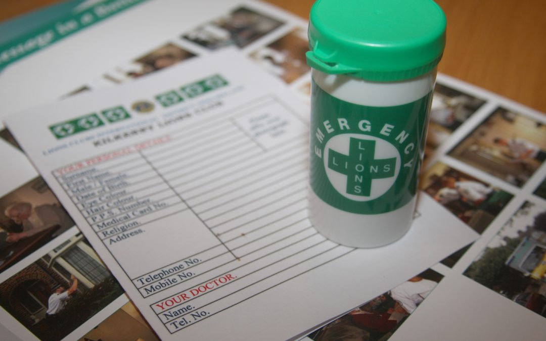 Message In A Bottle – Scheme To Let Emergency Services Know Your Medical History