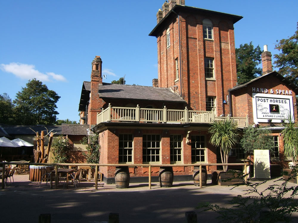 Hand and Spear Pub and Hotel Weybridge Surrey