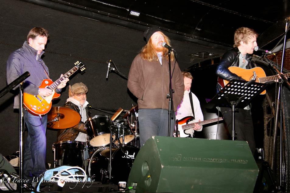 Live band at Weybridge Fireworks Display