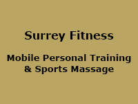 Surrey Fitness - Mobile Personal Trainer & Sports Massage Therapist Weybridge