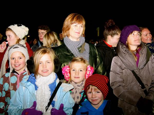 Weybridge Surrey Fireworks Display at Cleves School Oatlands Village