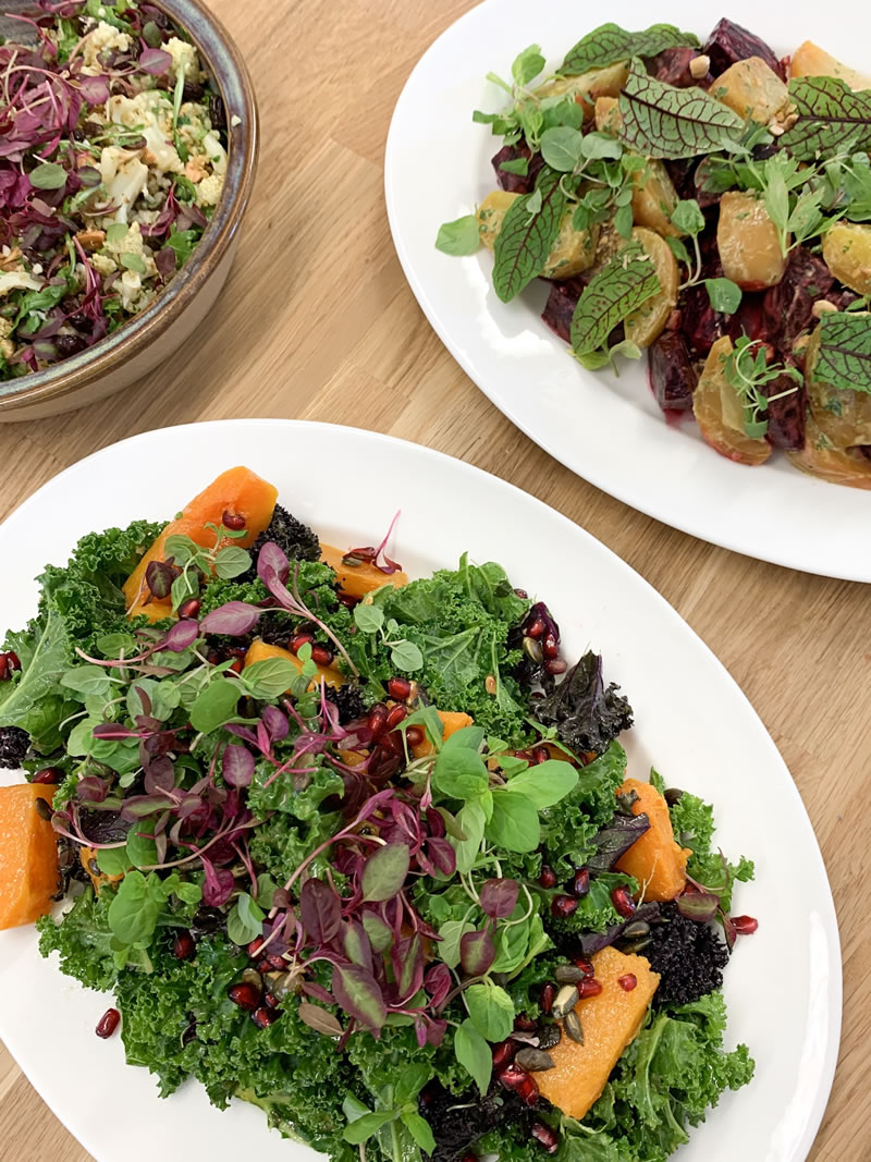 Vegetable Salads - Cooking Courses in Byfleet and Catering to Weybridge and Surrey