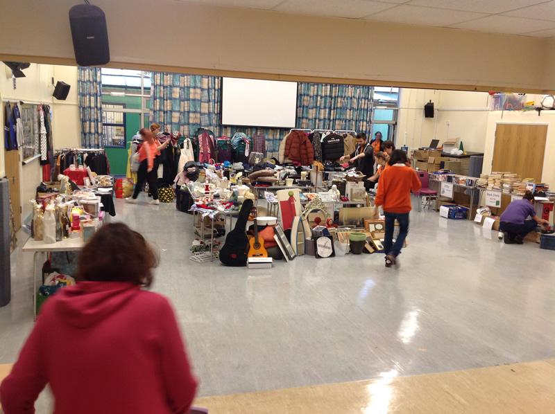 Walton Leigh School Hersham - Christmas Fair Preparations