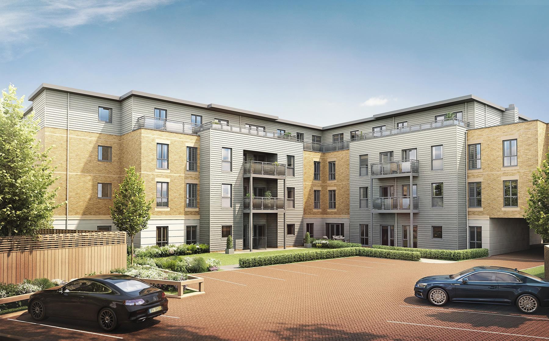 Weybridge Retirement Apartments - Queens Road Development