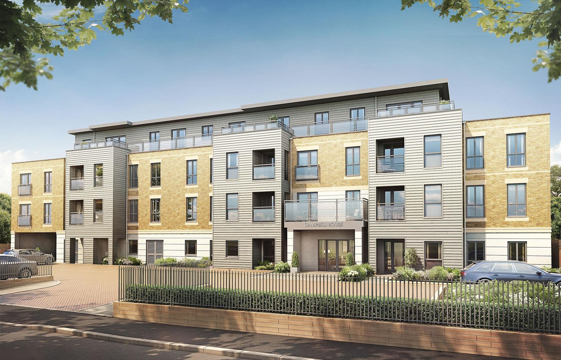 Weybridge Surrey Retirement Properties - McCarthy and Stone Development