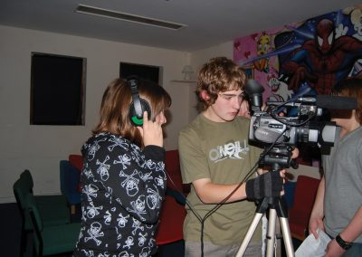 Weybridge Youth Club - Filming