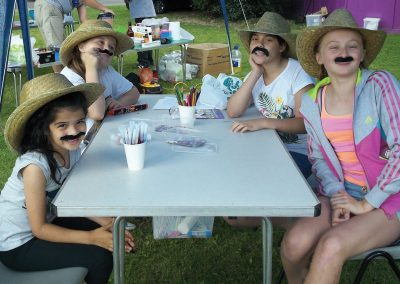 Weybridge Youth Club - Moustaches