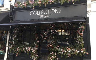 """Return of Weybridge in Bloom's """"Best Dressed Christmas Window"""""""