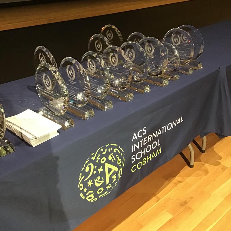 Elmbridge Sports Awards 2019 Glass Trophies