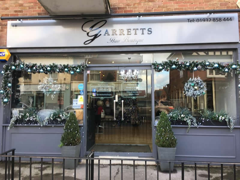 Garretts Hair Boutique - Christmas Window Competition Runners Up