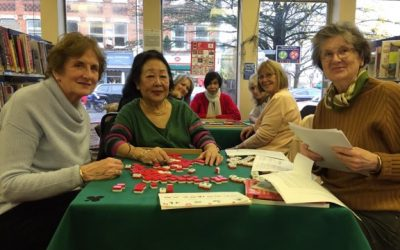 Mahjong at Weybridge Library