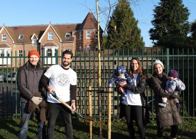 My Sons Planet - Weybridge Tree Planting