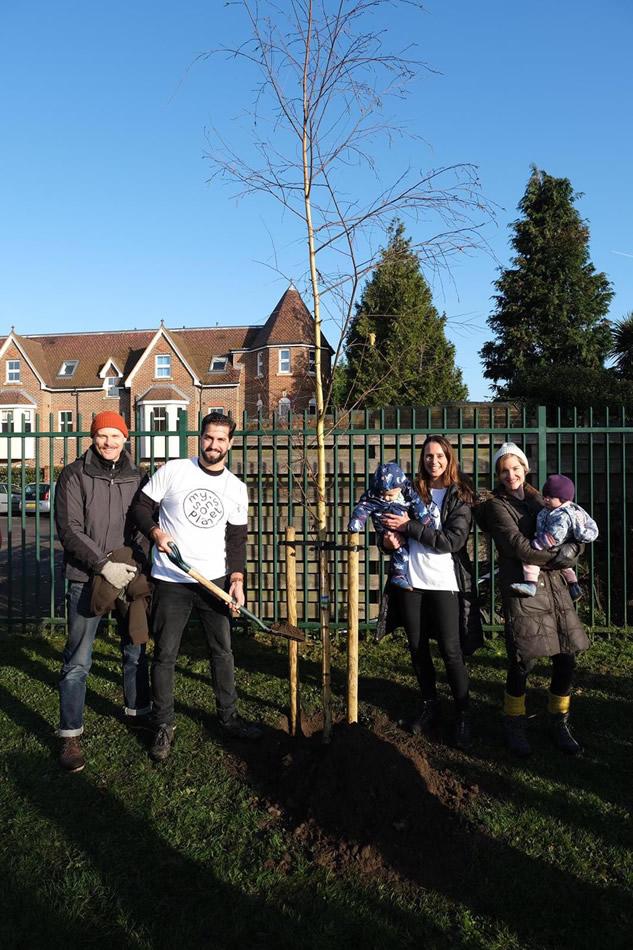 My Sons Planet - Weybridge Tree Planting