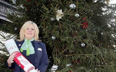 Christmas Tree Gift To Weybridge From New Retirement Development