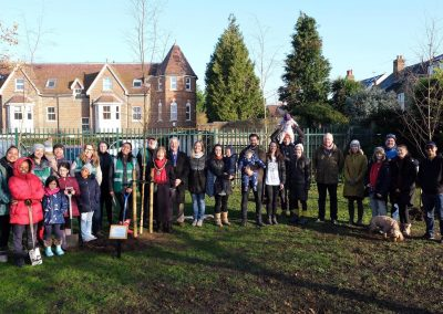 Weybridge Tree Planting Event