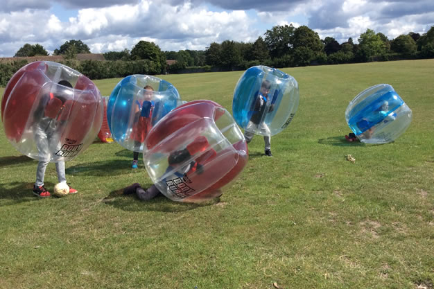 Children Playing Ball Game - Weybridge Holiday Camps - Casa Clubs