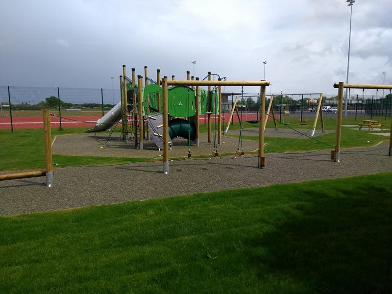 Elmbridge Borough Council Recreation - Natural play space at Xcel Sports Hub
