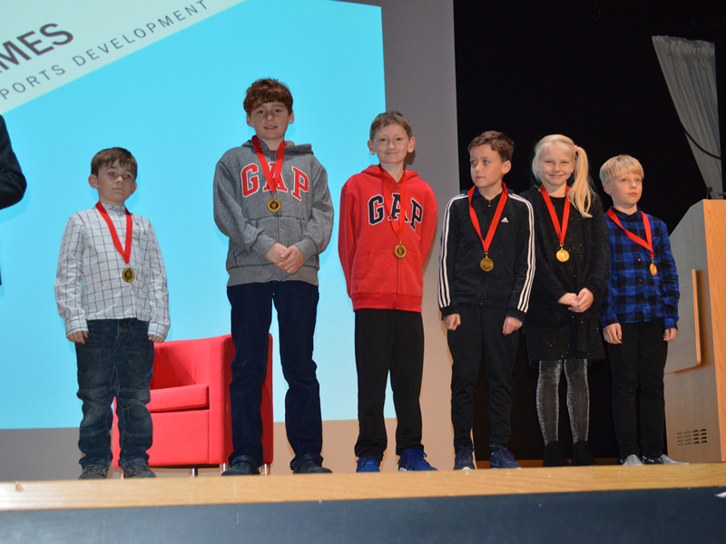 Elmbridge Borough Council - Sports Personality of the Year - Surrey Youth Games Award