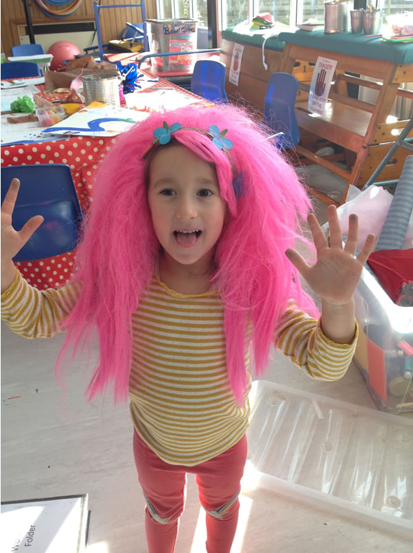 Weybridge Holiday Club - Child dressing up and craft play