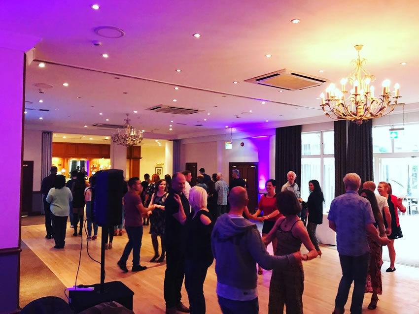 Weybridge Salsa Party - Now at Whiteley Village Hall Hersham Walton on Thames