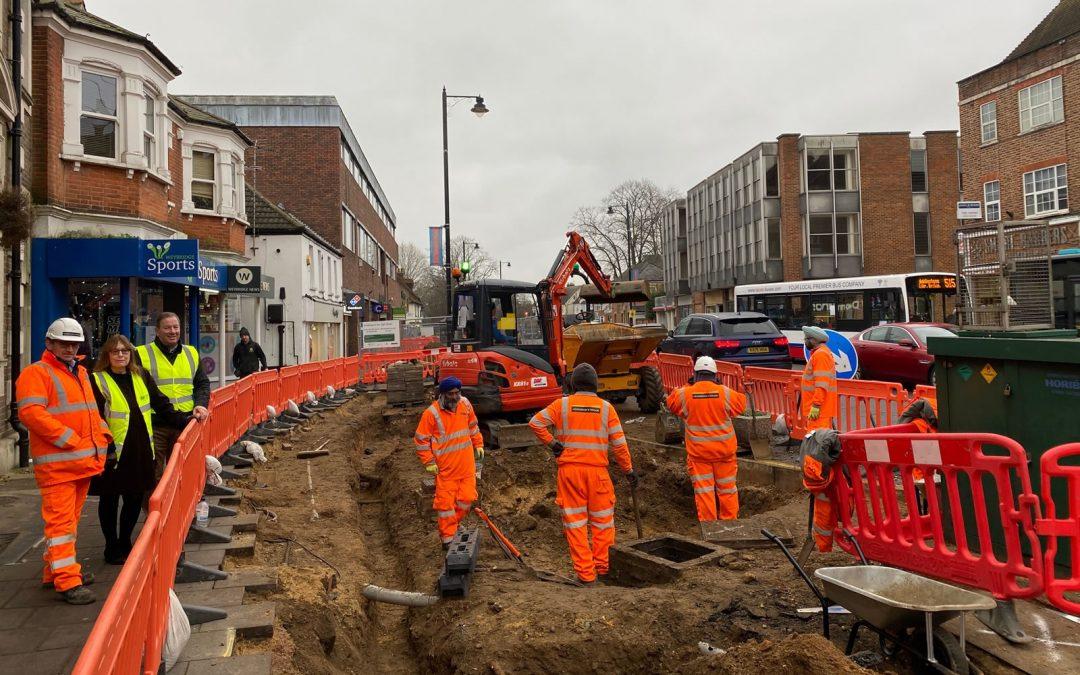 Weybridge Streetscape Project Update