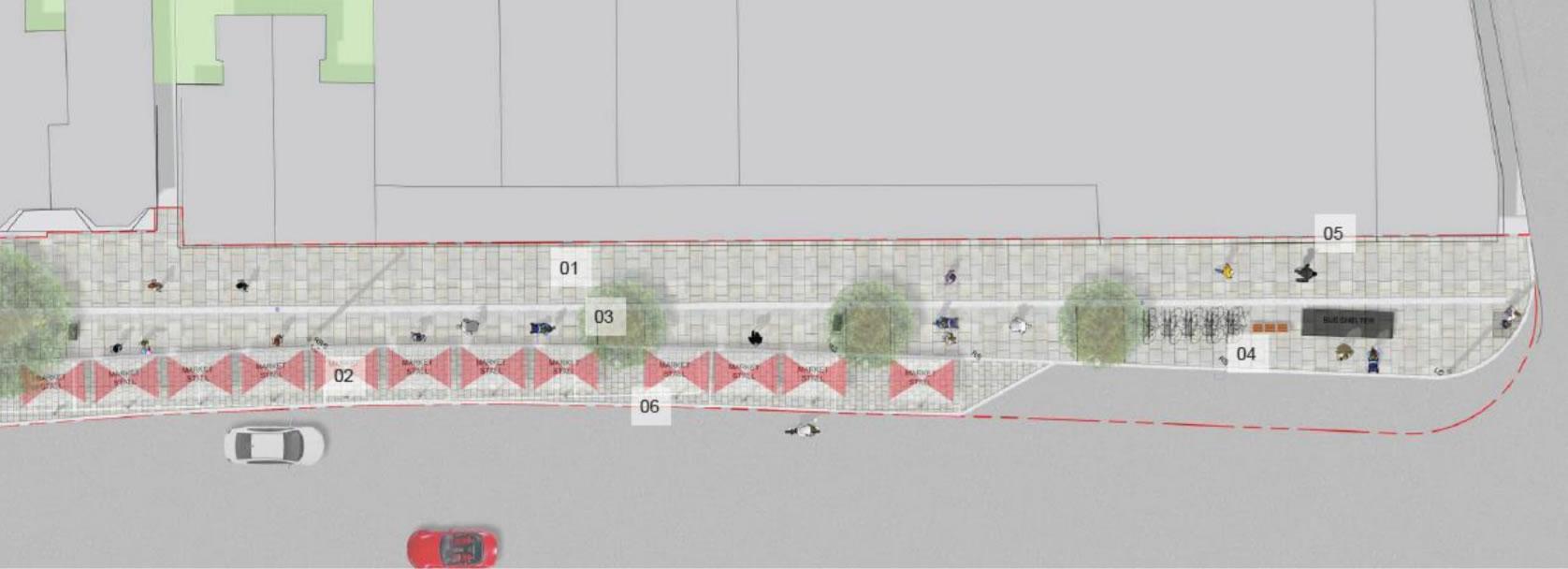 Weybridge Streetscape Scheme - Market Setup