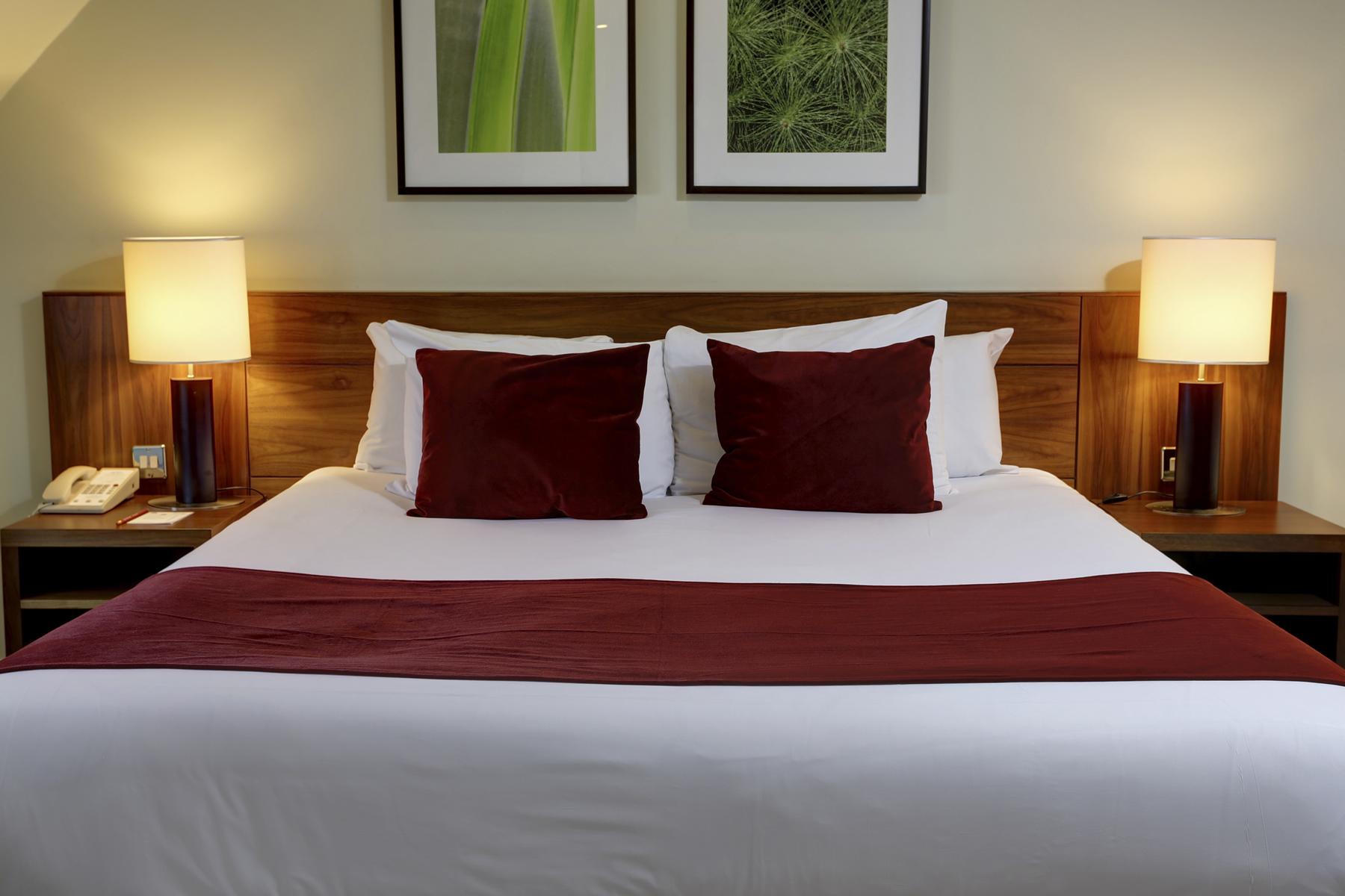Club Double Bedroom at Best Western Ship Hotel Weybridge Surrey