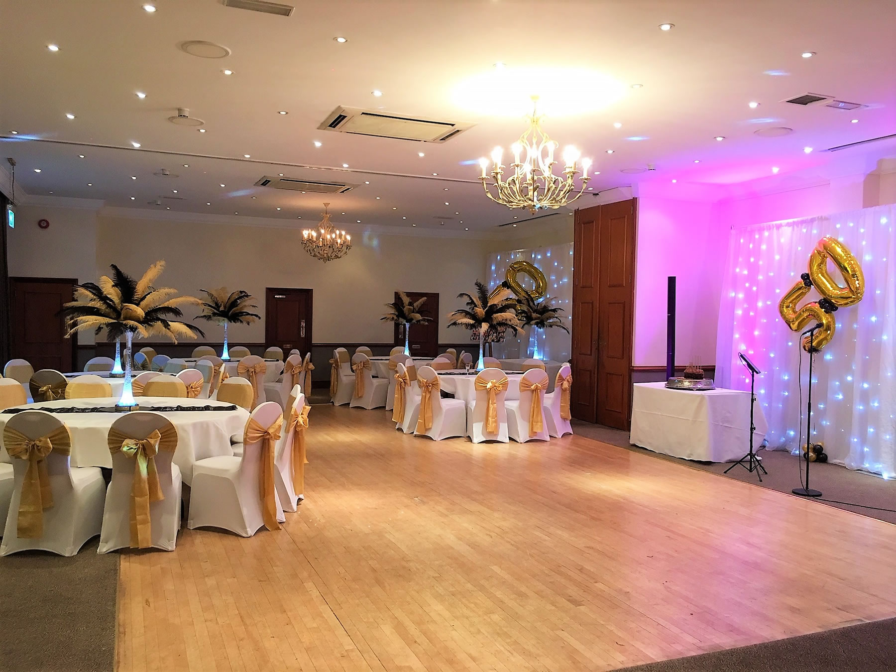 Function Room for Parties & Celebrations at The Ship Hotel Weybridge with large dance floor