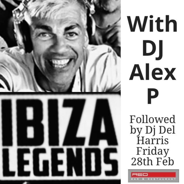 Red Bar Weybridge DJ Alex P Ibiza Legends 2020