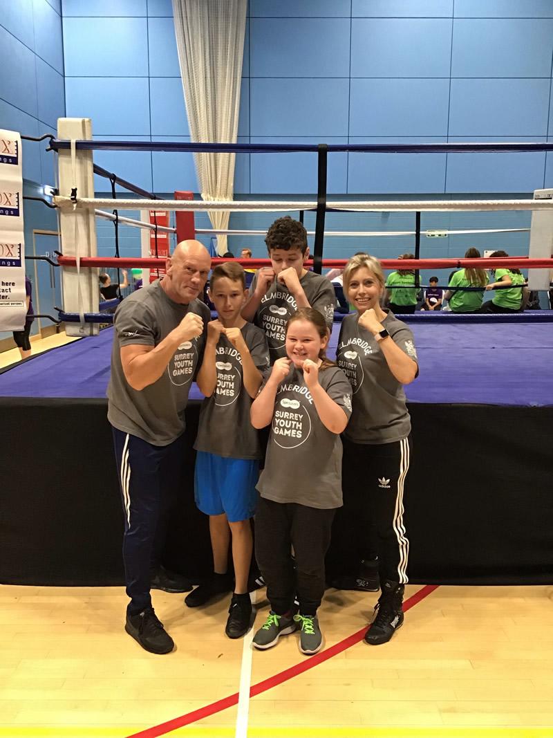 Team Elmbridge Boxing Team 2019