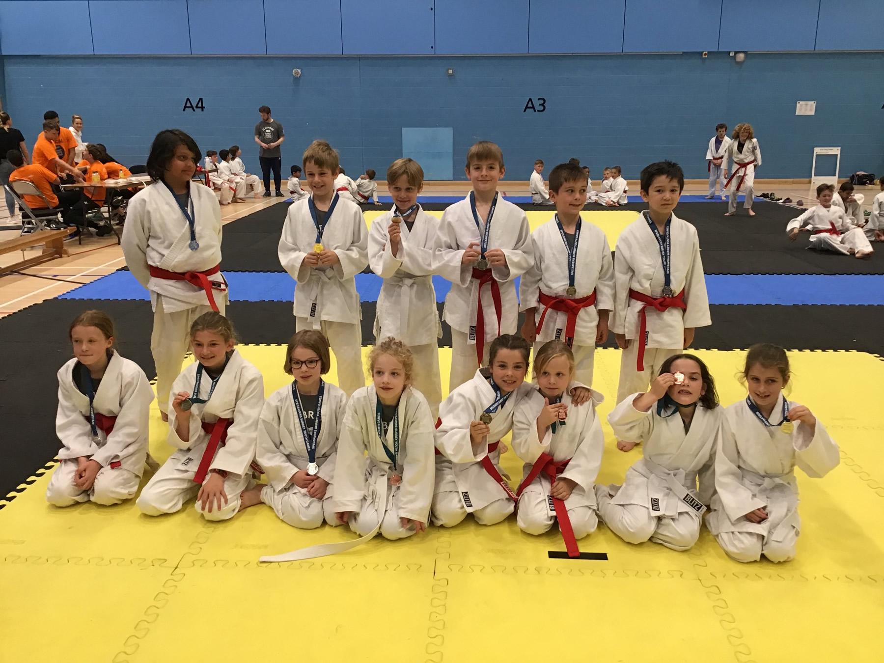 Team Elmbridge Judo Team - Surrey Youth Games 2019