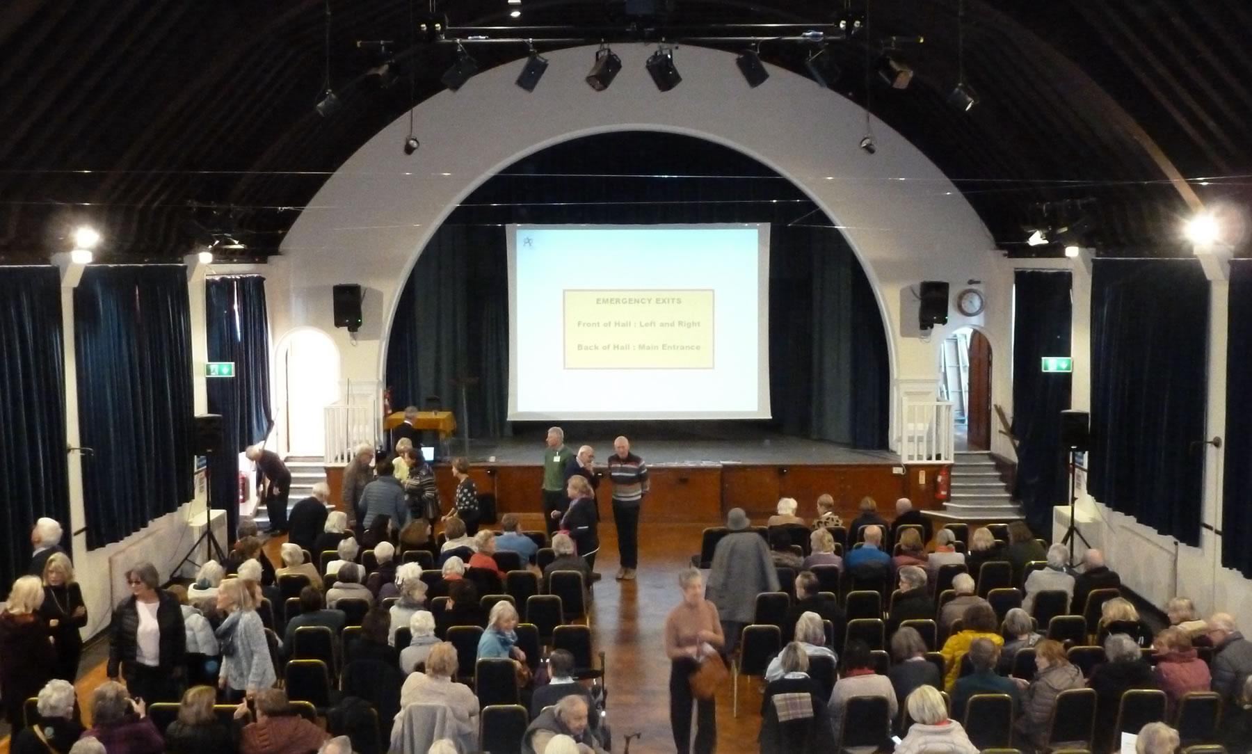 The Arts Society Weybridge Meeting at Whiteley Village Hall Hersham Elmbridge