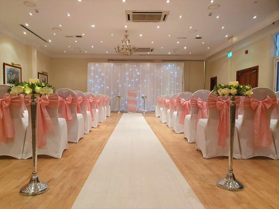 Weybridge Licensed Wedding Ceremony Venue