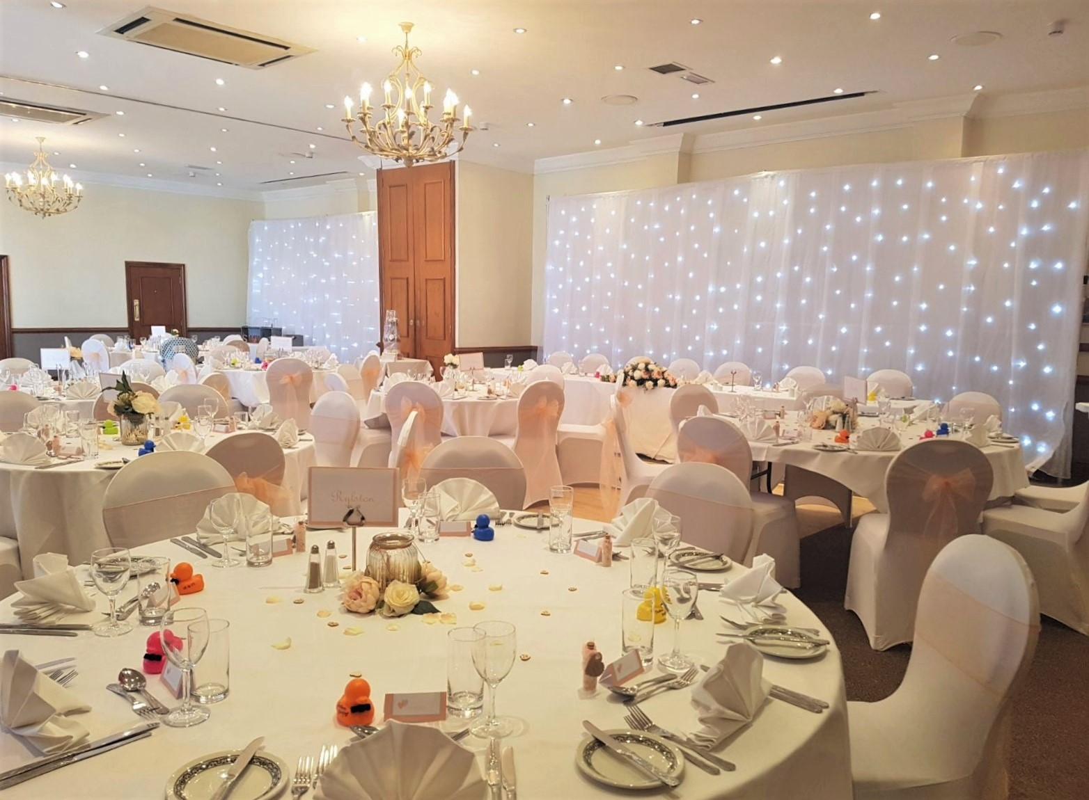 Weybridge Weddings - Reception Room at The Ship Hotel