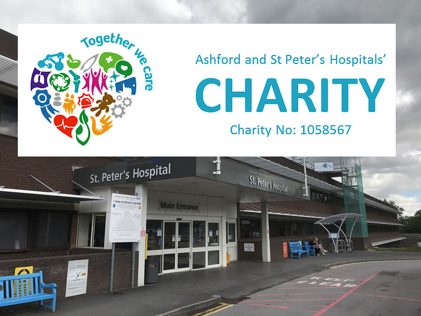 Fundraising Appeal To Help NHS Frontline Staff From Official Charity For Ashford & St Peter's Hospitals