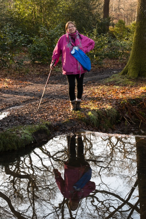 Elmbridge Council Healthy Walks Leader Karen Stow