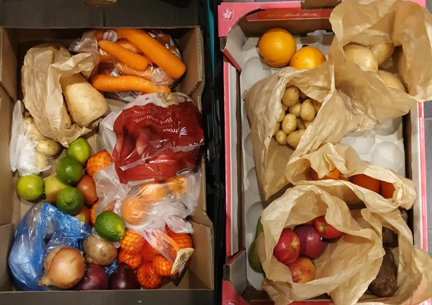 Elmbridge Covid-19 Support Group Food Donations - Vegetables
