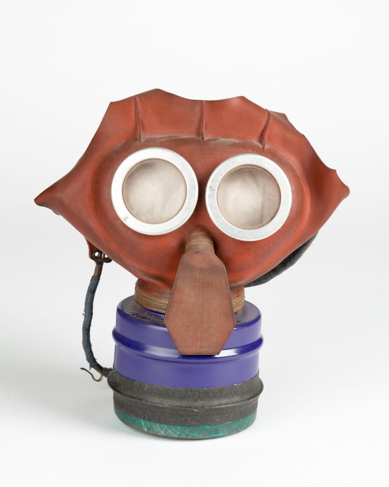 Elmbridge Museum World War 2 Exhibition in Esher - Callout Gas Mask